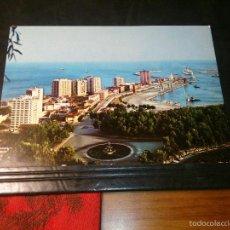 Postales: MALAGA VISTA PARCIAL PUERTO PASEO LOS CURAS - AÑOS 70 EDICIONES ARRIBAS - NO CIRCULADA. Lote 55887551
