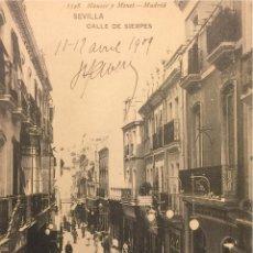 Postales: SEVILLA, CALLE DE SIERPES- 1548 HAUSER Y MENET. Lote 55891956