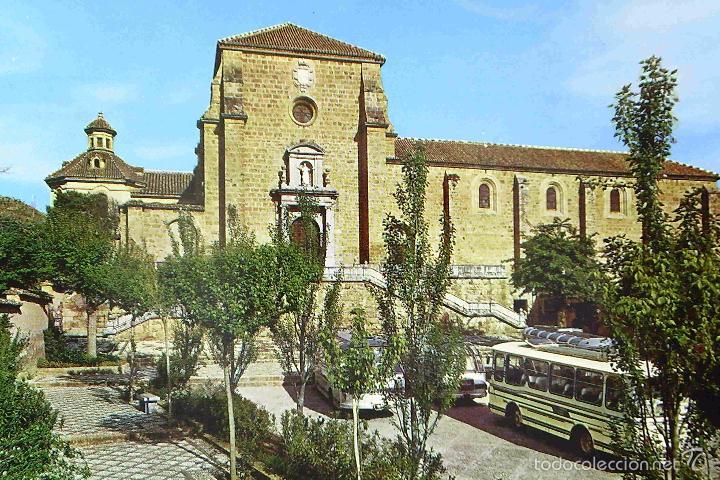 POSTAL, GRANADA, LA CARTUJA, FACHADA PRINCIPAL, SIN CIRCULAR (Postales - España - Andalucia Moderna (desde 1.940))