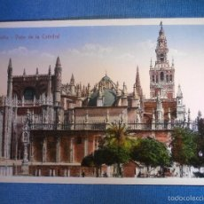 Postales: POSTAL - ESPAÑA - SEVILLA - VISTA GENERAL DE LA CATEDRAL - COLECCIÓN M. CHAPARTEGUY - NUEVA -. Lote 56220326