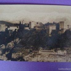 Postales: ANTIGUA POSTAL FOTOGRAFICA DE GRANADA - SIN EDITOR - VER 2 FOTOS.. R-2221. Lote 56293994