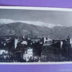 Postales: ANTIGUA POSTAL GRANADA - ALHAMBRA VISTA GENERAL - ED. HIJOS DE F. GALLEGOS... R-2264. Lote 56380215