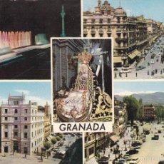 Postales: GRANADA Nº 2078 DIVERSOS ASPECTOS ESCRITA EDICIONES ARRIBAS . Lote 56390113