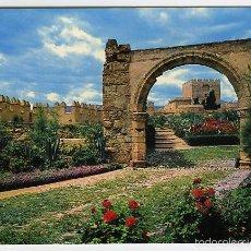 Postales: Nº 7025 ALMERÍA. ALCAZABA. VISTA PARCIAL Y ARCO ROMANO. SEGURA. EDICIONES BEASCOA BV. Lote 56487070