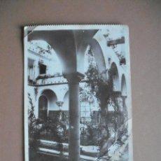 Postales: FOTOPOSTAL, PATIO SEVILLANO DE LA RESIDENCIA DE AMERICA, 1938. Lote 56522980