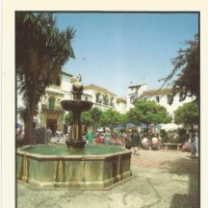 Postales: ** PV922 - POSTAL - MARBELLA - COSTA DEL SOL - PLAZA DE LOS NARANJOS. Lote 56751294