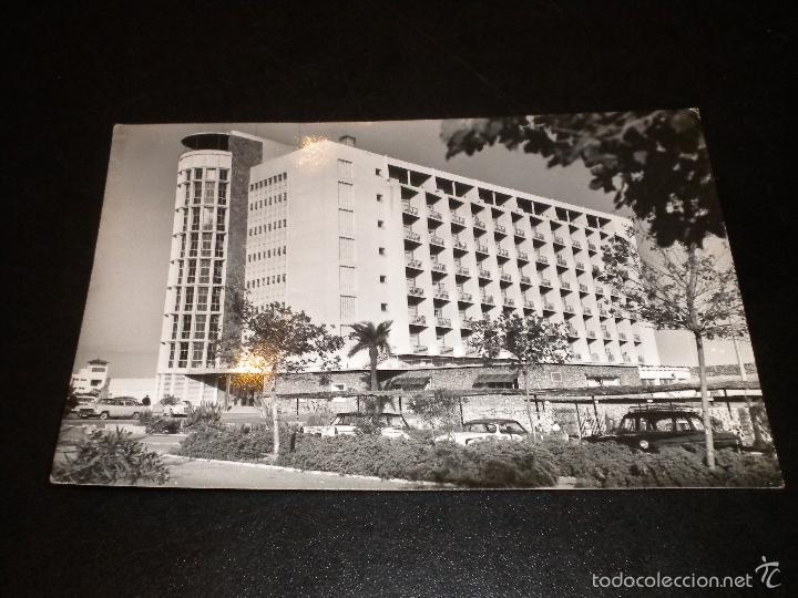 POSTAL MALAGA - TORREMOLINOS, HOTEL PEZ ESPADA / Nº 1099 / 1961 / ARRIBAS (Postales - España - Andalucia Moderna (desde 1.940))