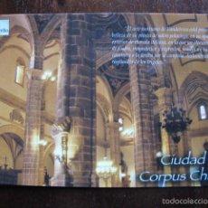 Postales: POSTAL VILLACARRILLO CIUDAD DEL CORPUS CHRISTI JAEN. Lote 56968382