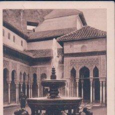 Postales - POSTAL GRANADA, ALHAMBRA PATIO DE LOS LEONES.(L.Roisin) - 57056925