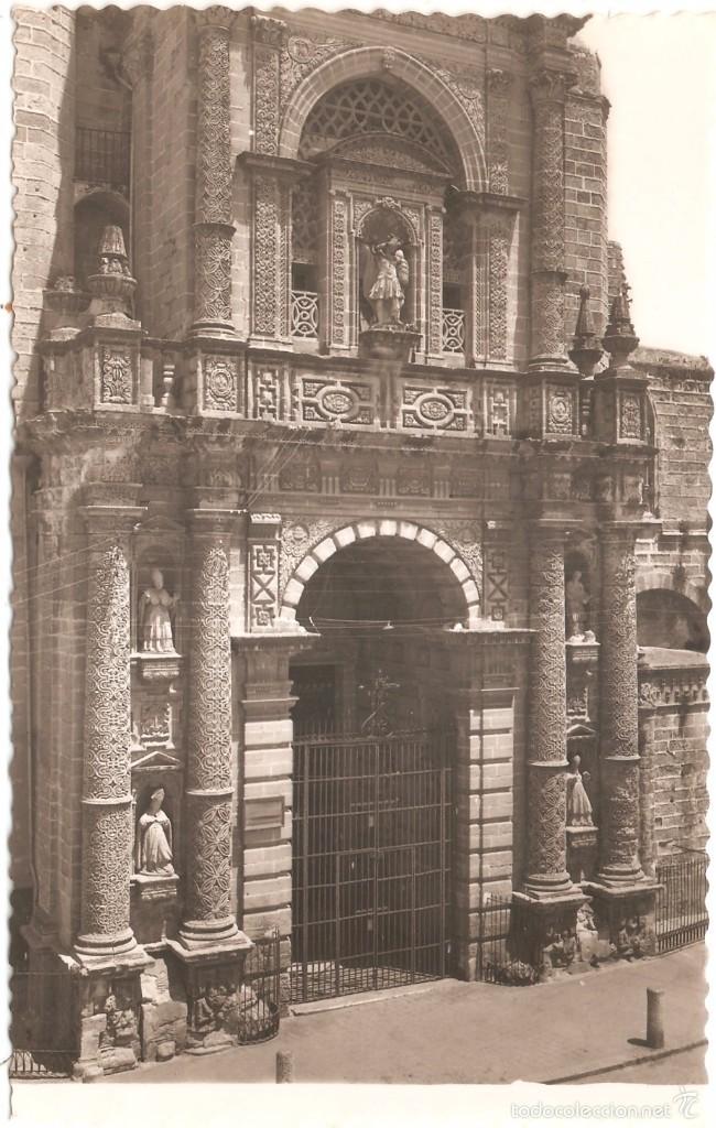 CÁDIZ JEREZ DE LA FRONTERA PARROQUIA DE SAN MIGUEL FACHADA PRINCIPAL (Postales - España - Andalucia Moderna (desde 1.940))