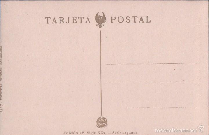 Postales: POSTAL 10 ANTEQUERA CALLE TRINIDAD DE ROJAS 7357 FOTOTIPIA THOMAS. ED SIGLOXX SERIE SEGUNDA. - Foto 2 - 57220501