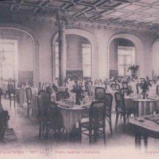 Postales: SEVILLA - HOTEL INGLATERRA - VISTA PARCIAL COMEDOR. L F. Lote 57401646
