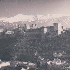 Postales: POSTAL FOTOGRAFICA GRANADA.- ALHAMBRA, VISTA GENERAL. Lote 57432086