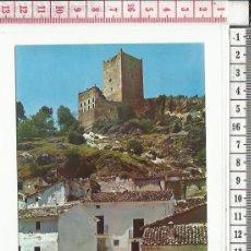 Postales: 14.435 TARJETA POSTAL, CASTILLO DE LA YEDRA, CAZORLA, JAEN. Lote 57493934