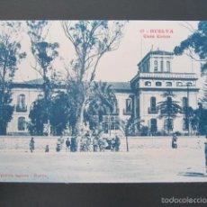 Postales: POSTAL HUELVA. CASA COLON. . Lote 57657592
