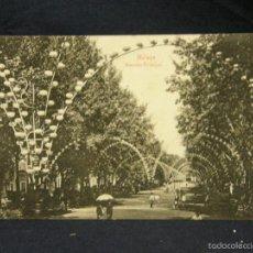 Postales: POSTAL MALAGA ALAMEDA PRINCIPAL ED DOMINGO DEL RIO 1907 OVIEDO. Lote 57678041