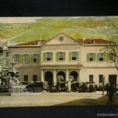Postales: POSTAL GIBRALTAR COLOREADA THE EXCHANGE AND JEWISH MARKET BENZAQUEN & CO PPIOS S XX. Lote 57680808