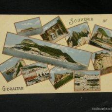 Postales: POSTAL COLOREADA GIBRALTAR SOUVENIR OF GIBRALTAR N 13 MILLAR & LANG PPIOS S XX. Lote 57680832