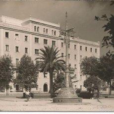 Postales: ALGECIRAS - PARQUE REINA CRISTINA Y PABELLÓN MILITAR - Nº 409. Lote 57688793