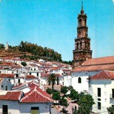 Postales: EM0147 CONSTANTINA - PLAZA TENIENTE GARCIA 1966 - GARRABELLA Nº5 - SEAT 600 GORDINI. Lote 57748709