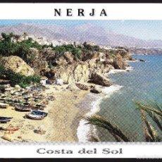 Postales: MALAGA NERJA PLAYA DE CALAHONDA. Lote 57789612