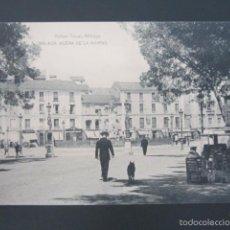Postales: POSTAL MÁLAGA. ACERA DE LA MARINA. RAFAEL TOVAL. HAUSER Y MENET. . Lote 57826867