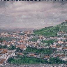 Postales: POSTAL FOTOGRAFICA COLOREADA GRANADA.- 13 VISTA PARCIAL. CIRCULADA. EDIC. SICILIA. Lote 57868047