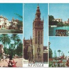 Postales: SEVILLA .- VARIAS VISTAS .- FOTO LLOPIS .- EDICIONES F.R. MOD. 345. Lote 57872211