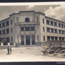 Postales: POSTAL FOTOGRÁFICA. ESCUELA DE TRABAJO Y PERITOS INDUSTRIALES E.P. LINARES. JAEN.. Lote 57920064