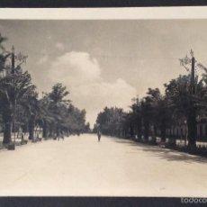 Postales: POSTAL FOTOGRÁFICA. PASEO DE LINAREJOS. SEGUNDO TRAMO. LINARES. JAEN.. Lote 57920194