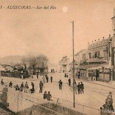 Postales: ALGECIRAS - SUR DEL RIO - BARREIRO Nº3 - TREN VAPOR. Lote 57951971