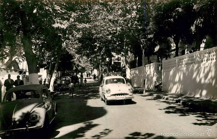 LANJARON - PASEO DEL BALNEARIO - FOTO - COCHES VW ESCARABAJO (Postales - España - Andalucía Antigua (hasta 1939))