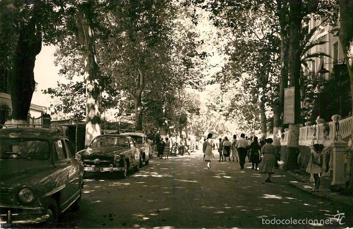 LANJARON - PASEO DEL BALNEARIO - ARRIBAS Nº1006 - ANIMADA - COCHES (1) (Postales - España - Andalucía Antigua (hasta 1939))