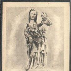 Postales: 6 - HUELVA - IMAGEN DE SANTA MARIA DE LA RABIDA, SIGLO XIV ACTUALMENTE EN LA CIUDAD DE PALOS -. Lote 57977514