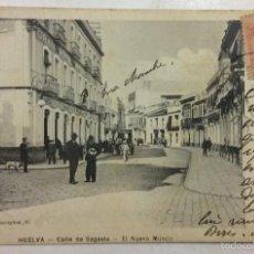 HUELVA. CALLE DE SAGASTA. EL NUEVO MUNDO. HOTEL. (ROGELIO BUENDIA)