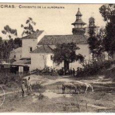 Postales: BONITA POSTAL - ALGECIRAS (CADIZ) - CONVENTO DE LA ALMORAIMA - AMBIENTADA - BURROS PASTANDO. Lote 58089756