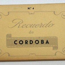 Postales: DESPLEGABLE CON 10 POSTALES RECUERDO DE CORDOBA Nº 4, EDITORIAL AISA, POSTAL MEZQUITA. Lote 58109659