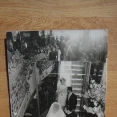 Postales: FOTO DE BODA - FOTO TARRES ,BARCELONA. Lote 58163997