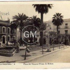 Postales: BONITA POSTAL - JEREZ DE LA FRONTERA (CADIZ) - PLAZA DEL GENERAL PRIMO DE RIBERA. Lote 58205176