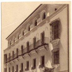 Postales: BONITA POSTAL - JEREZ DE LA FRONTERA (CADIZ) - FACHADA DEL HOTEL LOS CISNES - AMBIENTADA. Lote 58206079
