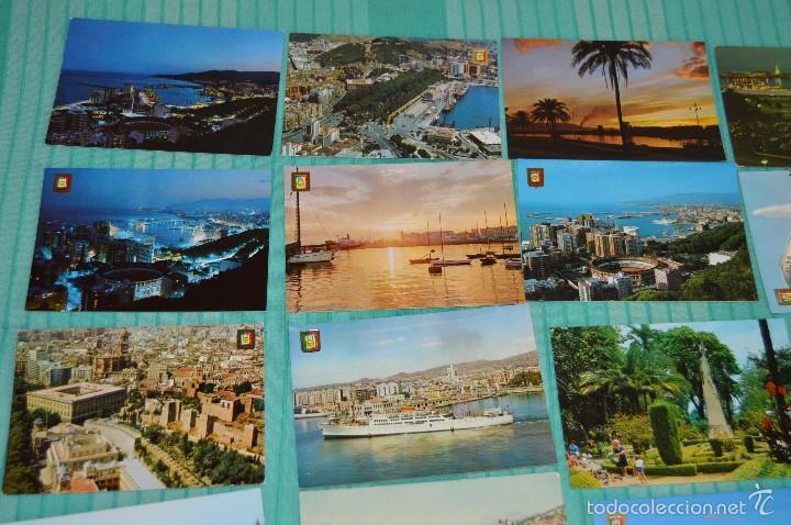 Postales: Lote 30 postales Sin circular - Variadas de Málaga - Muy buen estado - Foto 2 - 58217331