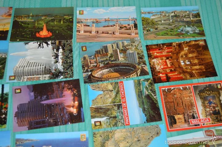 Postales: Lote 30 postales Sin circular - Variadas de Málaga - Muy buen estado - Foto 3 - 58217331