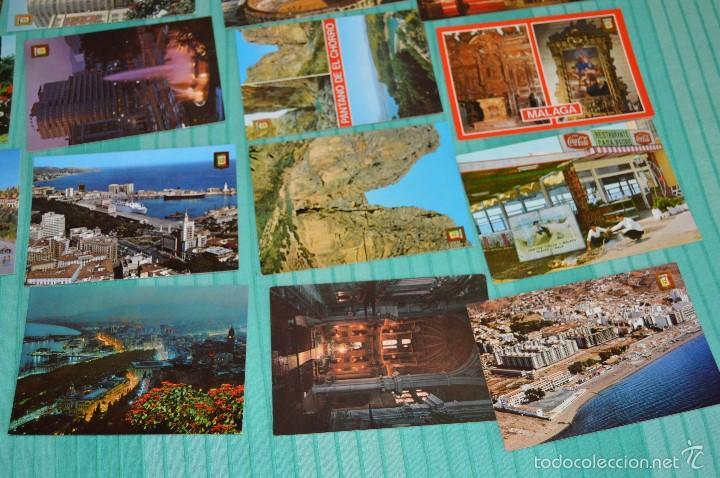 Postales: Lote 30 postales Sin circular - Variadas de Málaga - Muy buen estado - Foto 4 - 58217331