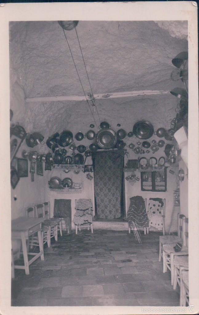 POSTAL GRANADA. ALBAYZIN - CUEVA DE GITANOS (Postales - España - Andalucía Antigua (hasta 1939))