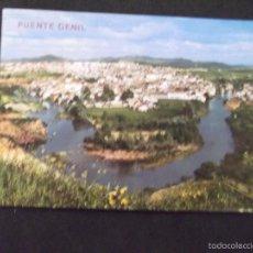 Postales: CORDOBA-V5-Nº2003-PUENTE GENIL-VISTA PARCIAL Y RIO GENIL. Lote 58372610