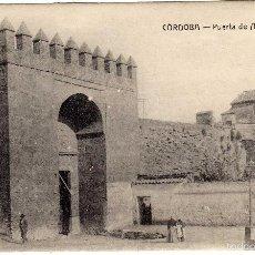 Postales: PRECIOSA POSTAL - CORDOBA - PUERTA DE ALMODOVAR - AMBIENTADA . Lote 58398340