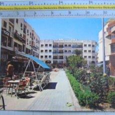 Postales: POSTAL DE MÁLAGA. AÑO 1976. TORREMOLINOS, PLAZA DE ANDALUCÍA. 1340. Lote 58401344