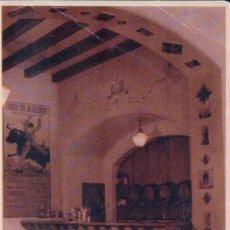 Postales: POSTAL JEREZ DE LA FRONTERA.- HOTEL LOS CISNES - BAR. GRAFICA MANEN. Lote 58414001
