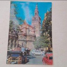Postales: CATEDRAL Y LA GIRALDA. Lote 58421997