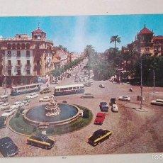 Postales: PUERTA DE JEREZ Y AVENIDA DE SAN FERNANDO. Lote 58422259
